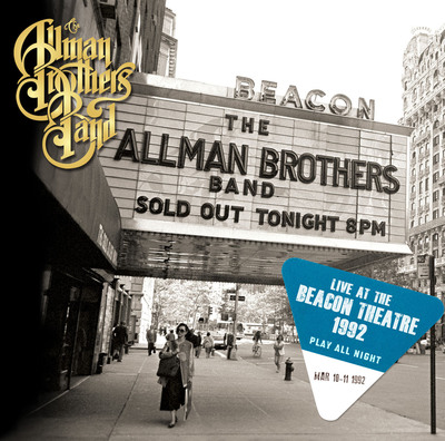 """""""Play All Night: Live At The Beacon Theatre 1992"""", a new two-disc set from the Allman Brothers Band. (PRNewsFoto/Legacy Recordings)"""