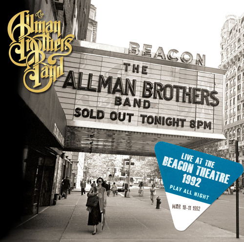 """""""Play All Night: Live At The Beacon Theatre 1992"""", a new two-disc set from the Allman Brothers Band. (PRNewsFoto/Legacy Recordings) (PRNewsFoto/LEGACY RECORDINGS)"""