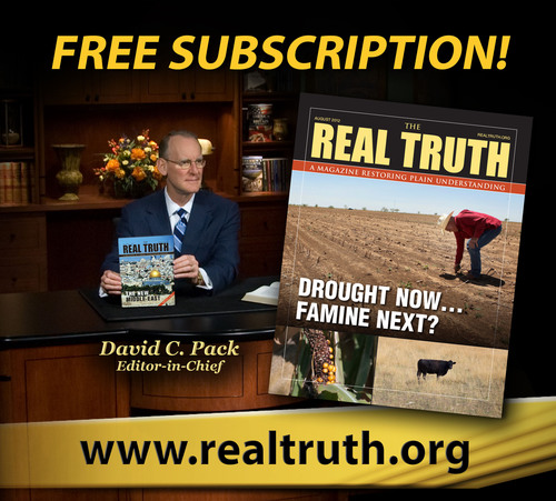 The Real Truth(TM) Magazine Dramatically Expands Its Worldwide Distribution. (PRNewsFoto/The Restored Church of  ...
