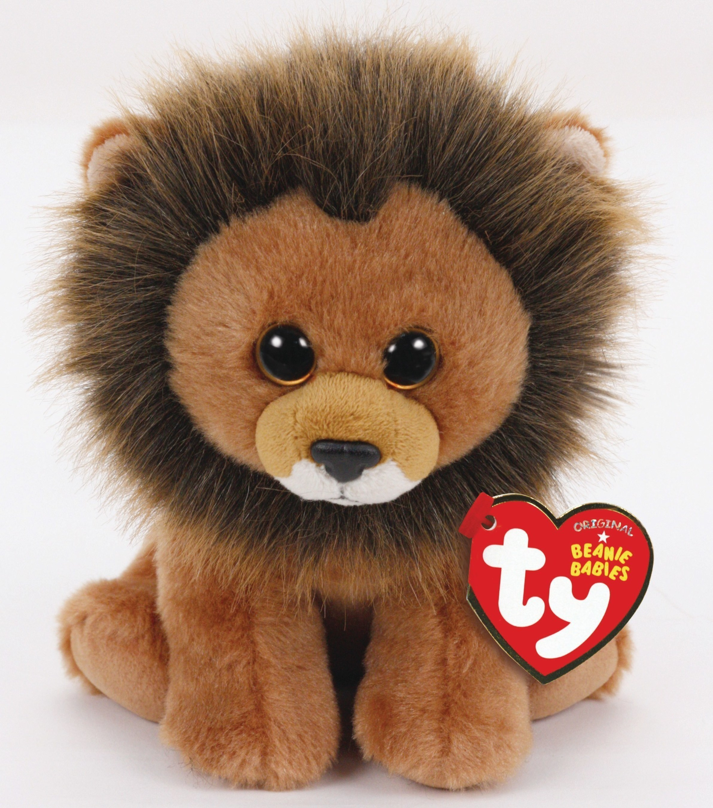 Ty Warner présente Cecil™ le Lion Beanie Baby®.