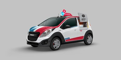 Domino's is launching the Domino's DXP(TM) (Delivery Expert), a specially designed and built pizza delivery vehicle.