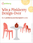 Pinkberry, the original tart frozen yogurt brand, is giving customers a unique way to experience its iconic and inspired design aesthetic in their own homes. Starting today, Pinkberry fans can enter in-store or on-line at www.pinkberry.com/beoriginal to receive a complete room makeover by Pinkberry's award-winning design team, from initial design consultation through the big reveal. The winner will be announced on February 21.  (PRNewsFoto/Pinkberry)