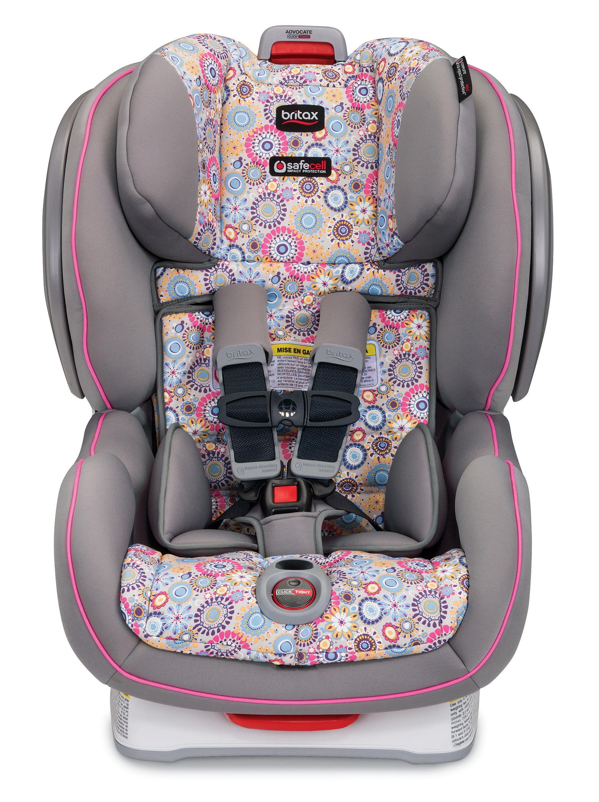 As the leader in mobile safety for more than 70 years, Britax now brings its game-changing ClickTight(TM) Installation System to its most popular and versatile convertible car seats, including the Britax Advocate in Limelight. (PRNewsFoto/Britax)