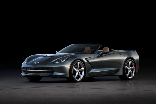 First 2014 Chevrolet Corvette Stingray Convertible Auctioned April 5 to Benefit Karmanos Cancer