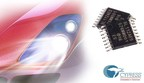 Pictured is the Cypress S6BL112A automotive LED driver, which enables smaller and more cost-effective headlight systems. The automotive-grade LED driver is the industry's first to feature synchronous control, delivering industry-leading conversion efficiency and stable performance in a lighting system.