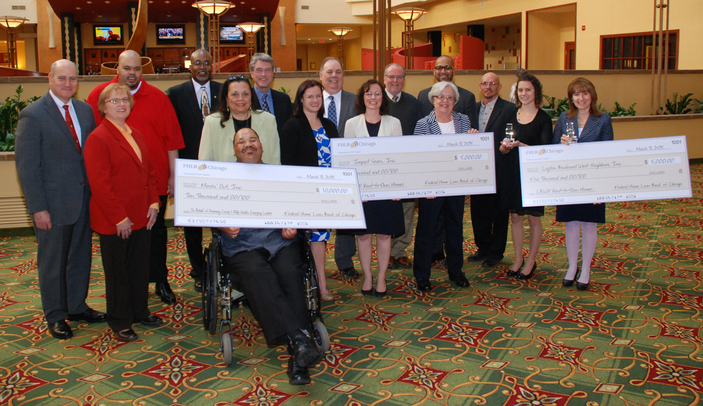 Federal Home Loan Bank of Chicago Announces Community First' Award Winners in Wisconsin