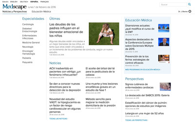 Medscape Spanish Edition