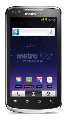 MetroPCS Adds ZTE Anthem(TM) 4G to its Expanding 4G LTE Smartphone Portfolio.  (PRNewsFoto/MetroPCS Communications, Inc.)