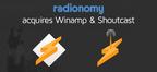 Radionomy Acquires Winamp & Shoutcast.  (PRNewsFoto/Radionomy)