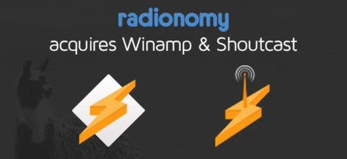 Radionomy Acquires Winamp & Shoutcast. (PRNewsFoto/Radionomy) (PRNewsFoto/RADIONOMY)