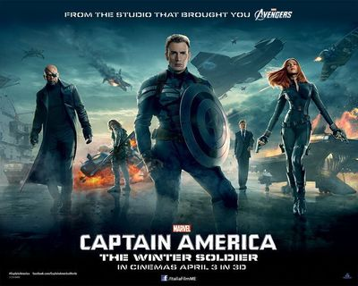 """Marvel's """"Captain America: The Winter Soldier"""" picks up after the cataclysmic events in New York with The Avengers, and finds Steve Rogers living quietly in Washington, D.C., trying to adjust to the modern world. But when a S.H.I.E.L.D. colleague comes under attack, Steve becomes embroiled in a web of intrigue and mystery that threatens to put the world at risk. (PRNewsFoto/Italia Film Middle East)"""