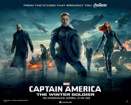 "Marvel's ""Captain America: The Winter Soldier"" picks up after the cataclysmic events in New York with The Avengers, and finds Steve Rogers living quietly in Washington, D.C., trying to adjust to the modern world. But when a S.H.I.E.L.D. colleague comes under attack, Steve becomes embroiled in a web of intrigue and mystery that threatens to put the world at risk. (PRNewsFoto/Italia Film Middle East)"