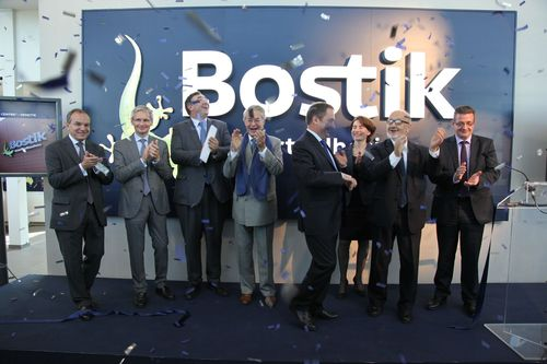 Official inauguration of the Bostik Smart Technology Centre, Venette, France (PRNewsFoto/Bostik)