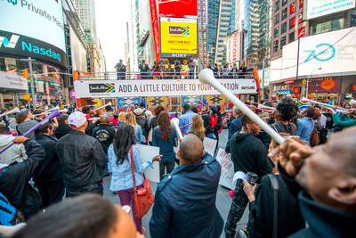 South African Tourism showcases one of its BIG 5 experiences with a NYC concert. (PRNewsFoto/South African Tourism)