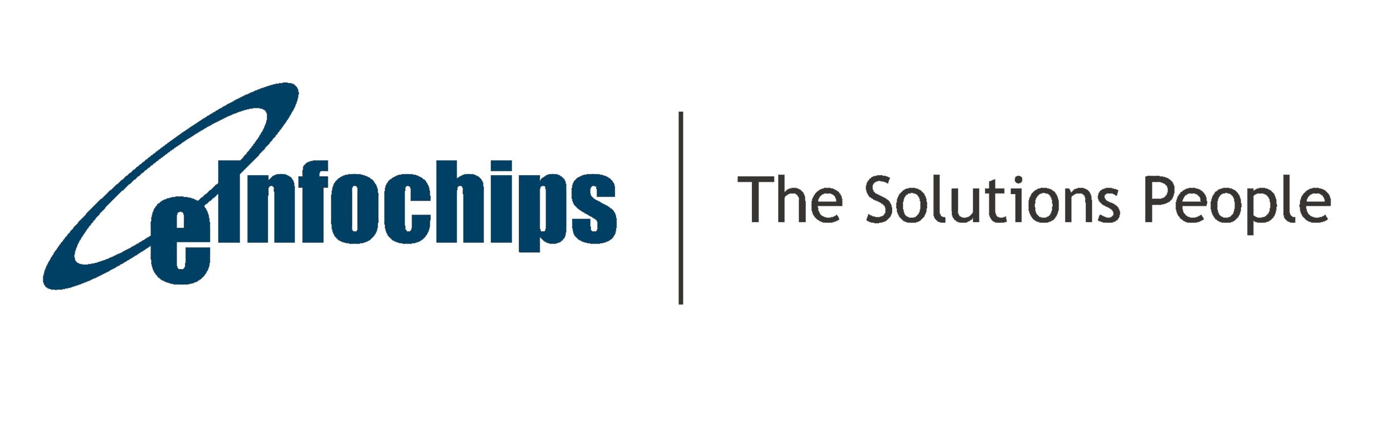 Logo eInfochips (PRNewsFoto/eInfochips)