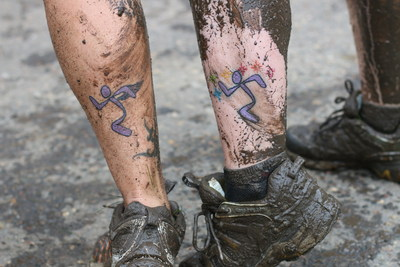 More than 3,000 Anytime Fitness employees and gym members have Runningman tattoos.