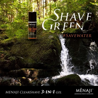 MENAJI celebrates Earth Day 2016 with #free #instacontest ClearShave 3-in-1 Formula gel and BOGO offer.