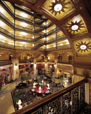 Brown Palace Atrium, Credit VISIT DENVER.  (PRNewsFoto/VISIT DENVER, The Convention & Visitors Bureau)
