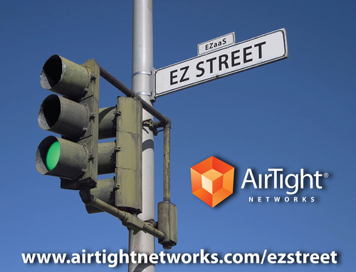 Take the EZ Street for MSP-class services, not the Hard Road.  (PRNewsFoto/AirTight Networks)