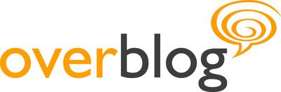 OverBlog logo. (PRNewsFoto/OverBlog) (PRNewsFoto/OVERBLOG)