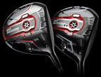 CALLAWAY GOLF ANNOUNCES BIG BERTHA ALPHA 815 DRIVER, a club that establishes a new driver category. The Big Bertha Alpha 815 Driver gives golfers the benefit of maximum distance from low spin and forgiveness. While low driver spin has previously come at the expense of forgiveness, Alpha 815 has changed that pattern by giving players both characteristics in one club. Callaway also announced today the Big Bertha Alpha 815 Double Black Diamond Driver, designed for better players to maximize distance through extreme low spin. (PRNewsFoto/Callaway Golf Company)