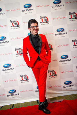Mondo Guerra, designer and spokesperson of Dining Out For Life hosted by Subaru of America, will reveal a 360-degree video on December 1, 2016 to commemorate World AIDS Day.