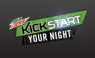 Mountain Dew Kickstart logo. (PRNewsFoto/Mountain Dew) (PRNewsFoto/MOUNTAIN DEW)