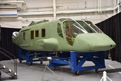 Spirit AeroSystems, Inc. first Bell V-280 Valor fuselage.