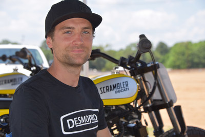 Johnny Lewis, an AMA Pro Flat-Track racer, took fourth at X Games Austin 2015 in Flat Track racing. He is racing the No. 10 Lloyd Brothers Motorsports Ducati and looks to improve upon last year's finish with a medal finish for 2016.