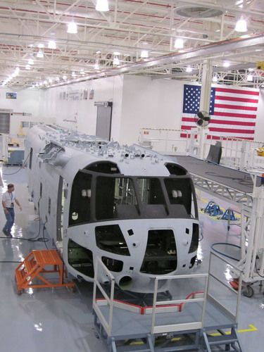 CH-53K Helicopter Assembly Line Opens at Sikorsky Florida Facility