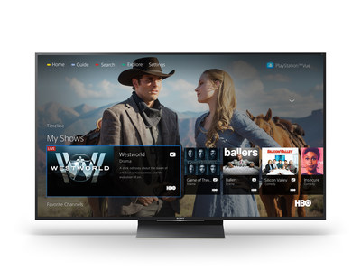 PlayStation(tm) Vue Now Available on Sony's Android(tm) TVs