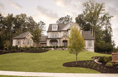Renowned homebuilder Edward Andrews Homes opens new sub-development The Enclave, inside The Manor Golf & Country Club in Milton, Georgia.