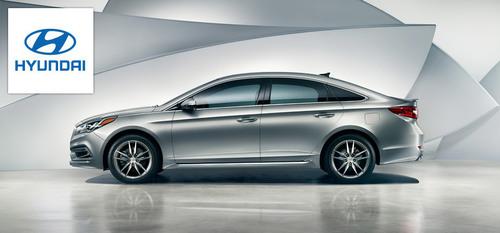 Hesser Hyundai looks forward to adding the 2015 Hyundai Sonata to its inventory. (PRNewsFoto/Hesser Hyundai)