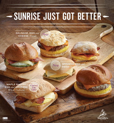 Caribou Coffee Encourages Fans to Savor the Flavors of Fall with the Launch of Three New Breakfast Sandwiches and New Reformulated Pumpkin Offerings