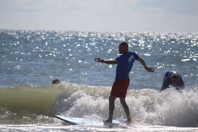 Wounded Warrior Project took warriors surfing in North Carolina recently.
