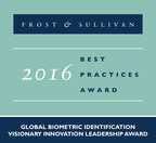 FST Biometrics Receives a Visionary Award from Frost & Sullivan for Leading the Market in Biometrics-based In Motion Identification