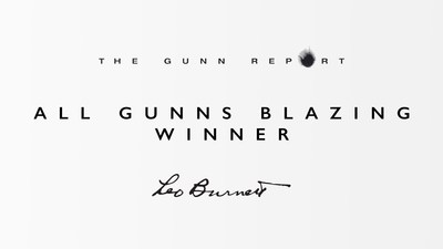 "Leo Burnett Worldwide Once Again Tops ""All Gunns Blazing"" in the 2015 Gunn Report"