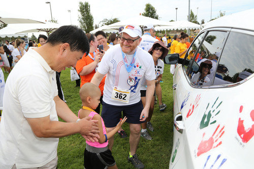 Hyundai Hope On Wheels 5K Run-Walk In Fountain Valley Brings Local Community Out To Raise Funds For