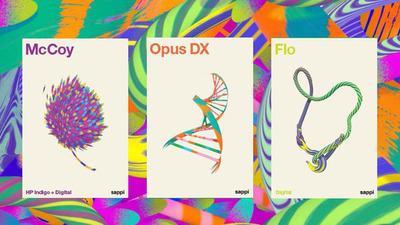 Sappi Fine Paper North America Announces New Dual Purpose Digital Sheet - Opus(R) DX.  (PRNewsFoto/Sappi Fine Paper North America)