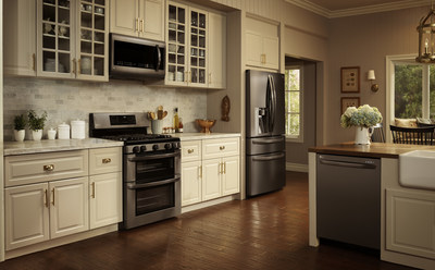 Lg Black Stainless Steel Kitchen Liances Bring Bold Update To