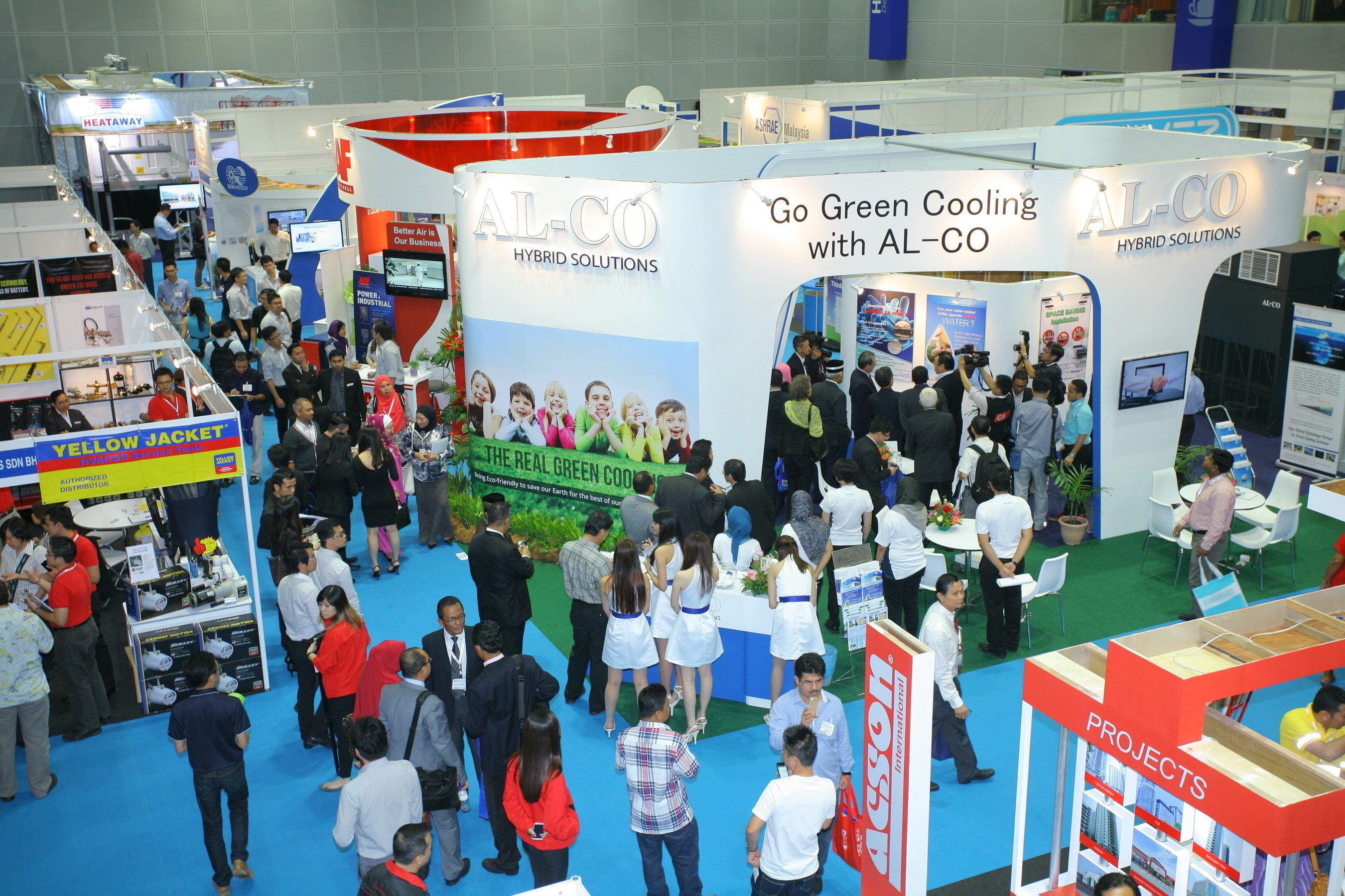 High Expectations: REVAC Myanmar 2015 shows the level and reflects the latest trend and tide of the HVACR ...