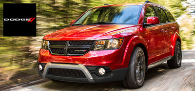 The 2015 Dodge Journey is arriving at Airdrie Dodge to continue its role as Canada's primary crossover vehicle for another year. (PRNewsFoto/Airdrie Dodge)