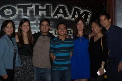 (from left to right): Ginny Reichenbach, Event Co-Chair Nicole Reichenbach, Jose Cruz, Nick Cruz, Noelle Reichenbach, Eileen Cruz and Victor Cruz