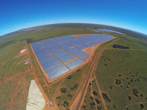 Lesedi Solar Power Project, South Africa (PRNewsFoto/SolarReserve)