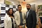 Rahul Khanna, Samrat Zaveri & Shefali Zaveri from shaze (PRNewsFoto/shaze)