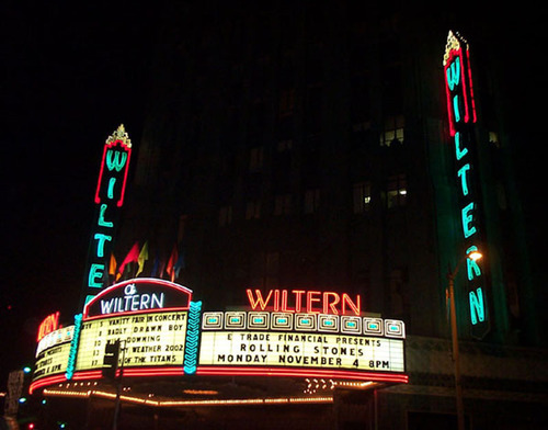 The historic Wiltern Theatre in Los Angeles.  (PRNewsFoto/Clearpath Entertainment)