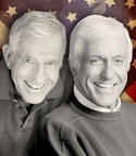 A National Treasure -- Dick and Jerry Van Dyke on stage together.  (PRNewsFoto/Five Star Productions)