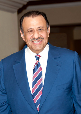 His Royal Highness Khaled bin Sultan bin Abdulaziz of Saudi Arabia. Winner of the Peter Benchley award for Excellence in Ocean Exploration. (PRNewsFoto/Khaled bin Sultan Living ...)