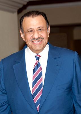 His Royal Highness Khaled bin Sultan bin Abdulaziz of Saudi Arabia. Winner of the Peter Benchley award for Excellence in Ocean Exploration. (PRNewsFoto/Khaled bin Sultan Living ...)
