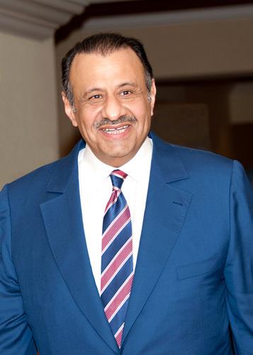 His Royal Highness Khaled bin Sultan bin Abdulaziz of Saudi Arabia. Winner of the Peter Benchley award for ...